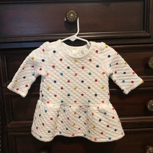 Toddler Girl Quilted Dress